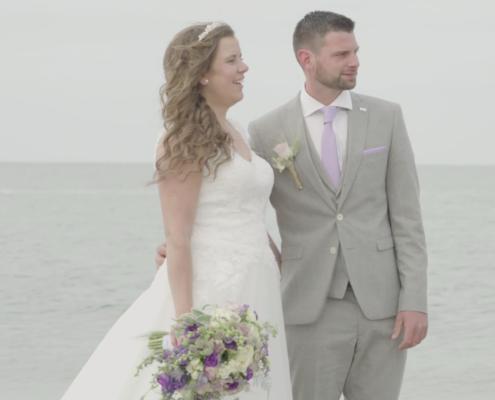 Bruidspaar Zoutelande