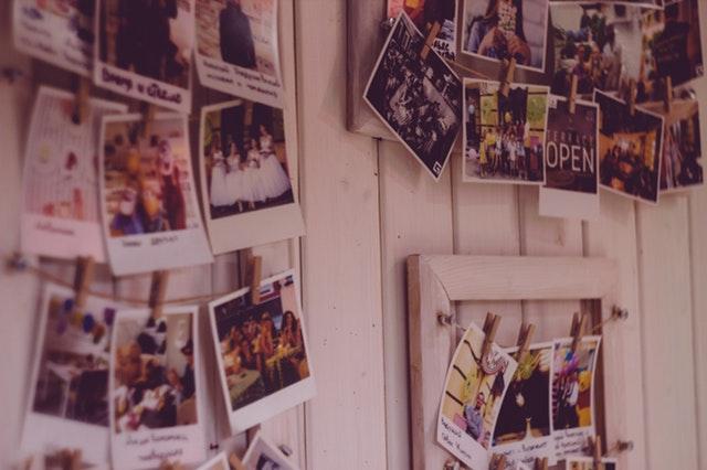 polaroid-gastenboek bruiloft