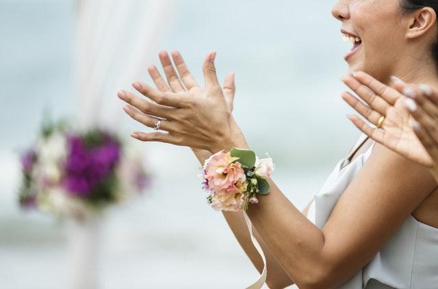 gast bruiloft klappen