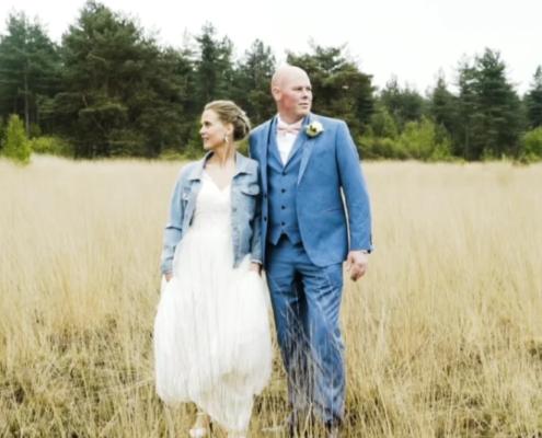 Bruidspaar Ravels Belgie