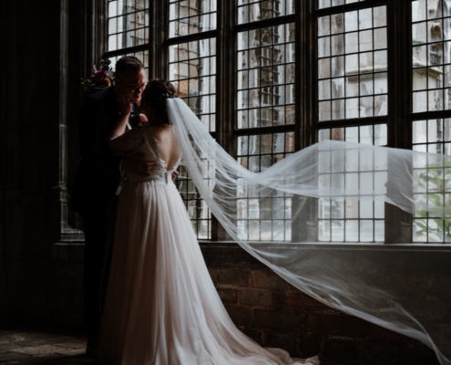 Bruidspaar Abdij Middelburg 2